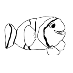 Cute Fish Coloring Pages Luxury Photography Realistic Tropical Fish Coloring Pages