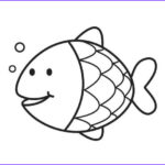 Cute Fish Coloring Pages New Photos Coloring Page Fish Applique & Drawing