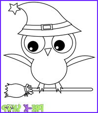 Cute Halloween Coloring Pages for Kids Luxury Collection Through for Cute Printable Halloween Coloring Pages