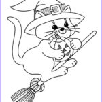 Cute Halloween Coloring Pages Luxury Stock 30 Free Witch Coloring Pages Printable