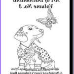 Dachshund Coloring Book Awesome Photos 110 Best Art Of Dachshund Images On Pinterest