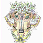 Dachshund Coloring Book Best Of Gallery Art Of Dachshund Coloring Book Physical Book By Artbyeddy