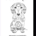 Dachshund Coloring Book Cool Images Art Of Dachshund Coloring Book Volume No 1 Physical Book