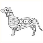 Dachshund Coloring Book Inspirational Photos 30 Free Coloring Pages A Geometric Animal Coloring