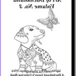 Dachshund Coloring Book New Collection Art Of Dachshund Coloring Book Volume No 3 Physical Book