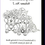 Dachshund Coloring Books Awesome Images Art Of Dachshund Coloring Book Volume No 2 Physical By