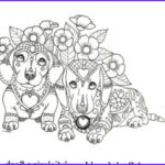 Dachshund Coloring Books Awesome Images Art Of Pibble Coloring Book Volume No 1 Downloadable Version