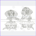 Dachshund Coloring Books Awesome Photos Dachshund Coloring Book For Adults And Children Volume 2