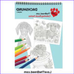 Dachshund Coloring Books Elegant Images Dachshund Coloring Book For Adults And Children Volume 1