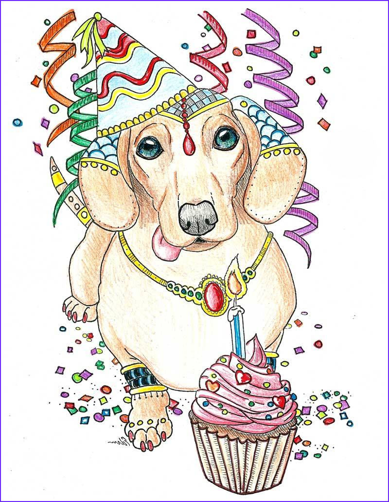 art of dachshund coloring book a coloring book for dachshund lovers