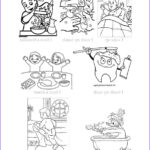 Daily Coloring Pages Beautiful Collection Daily Routines Worksheet Free Esl Printable Worksheets