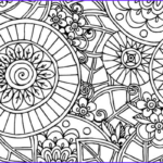 Daily Coloring Pages Beautiful Collection Relieve Daily Stresses With Beautiful Free Mandala