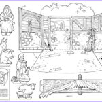 Daily Coloring Pages Beautiful Image Papermau Christmas Time 3d Crib Paper Model By Daily