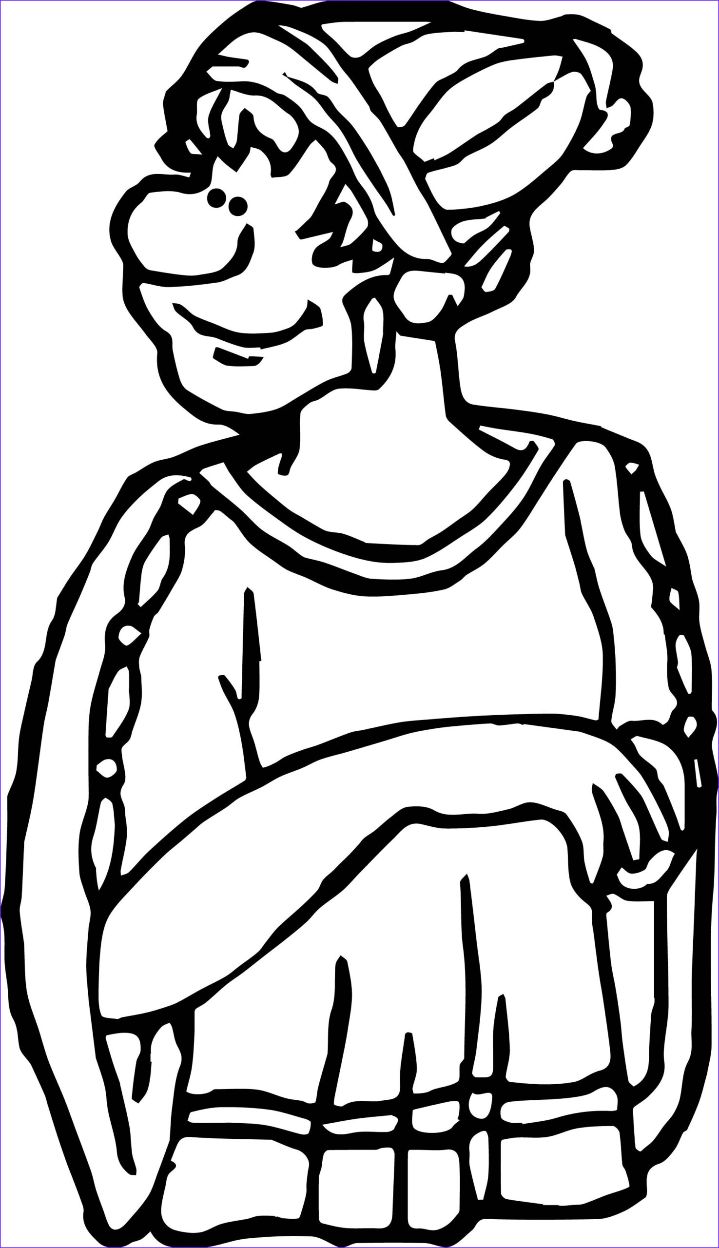 greece daily life coloring page