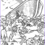 Daily Coloring Pages Cool Images Noah S Ark Printable Coloring Pages