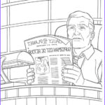 Daily Coloring Pages New Photos Perry White Editor In Chief Of The Daily Planet Coloring
