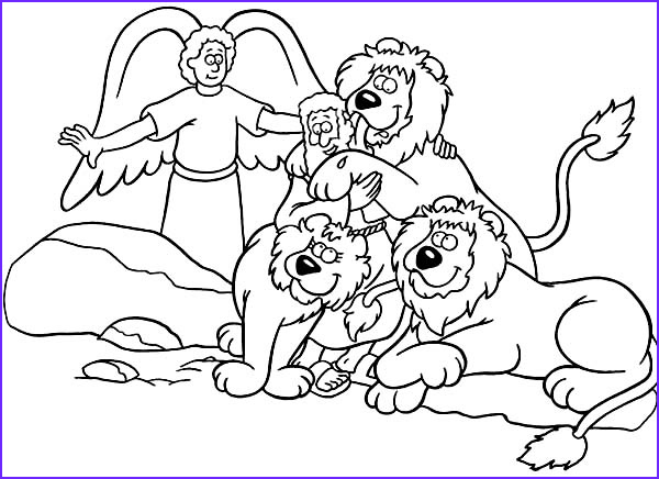 Daniel and the Lions Den Coloring Sheet Inspirational Photos Daniel Saved From An Angel In Daniel and the Lions Den