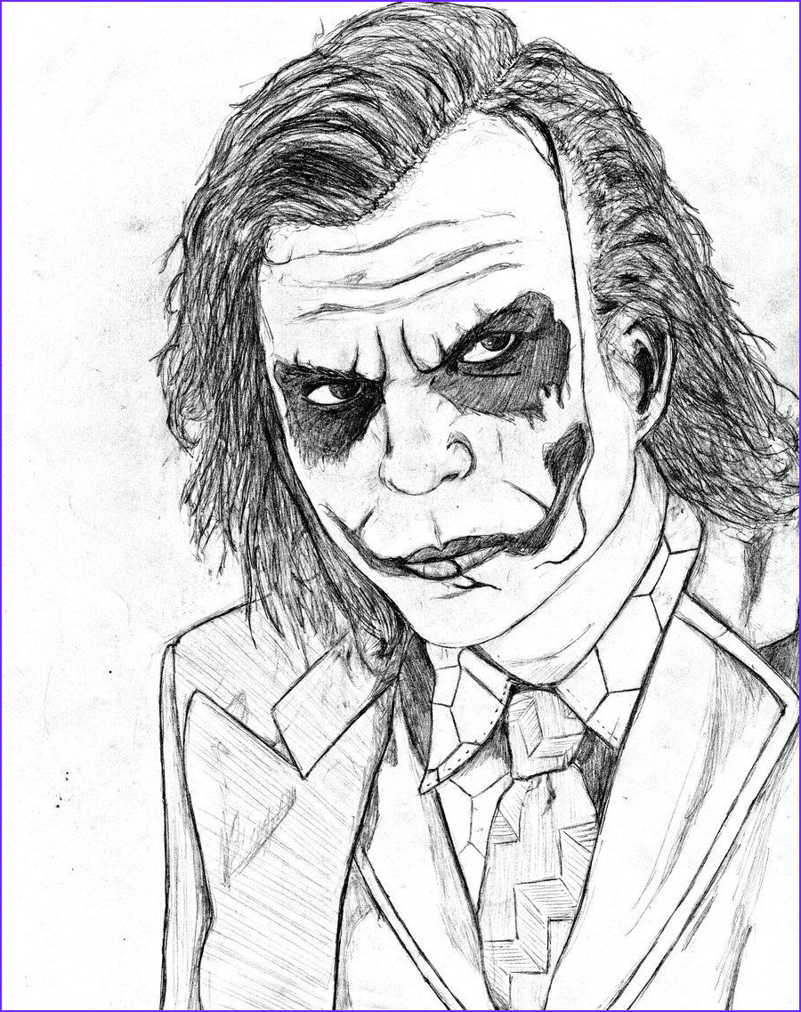 Dark Coloring Pages Awesome Photos Joker Coloring Pages Ideal Batman and Joker Coloring Pages