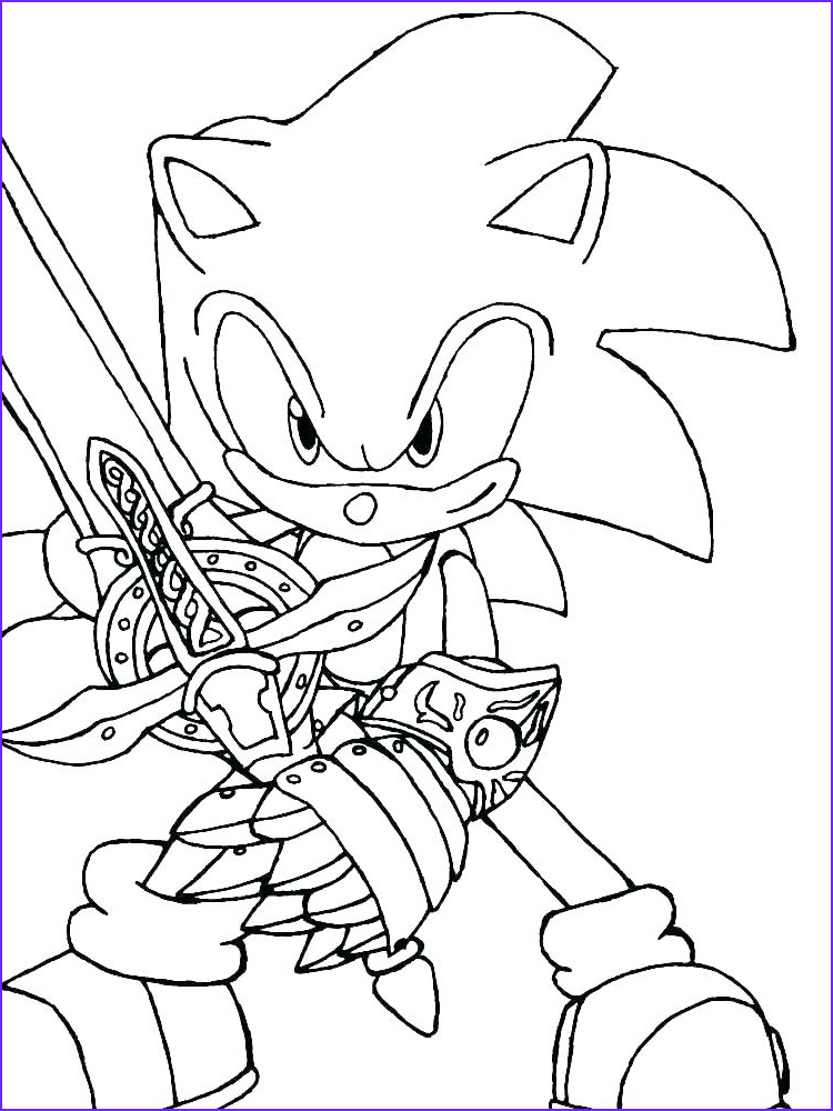 Dark Coloring Pages Cool Collection Super sonic Coloring Pages