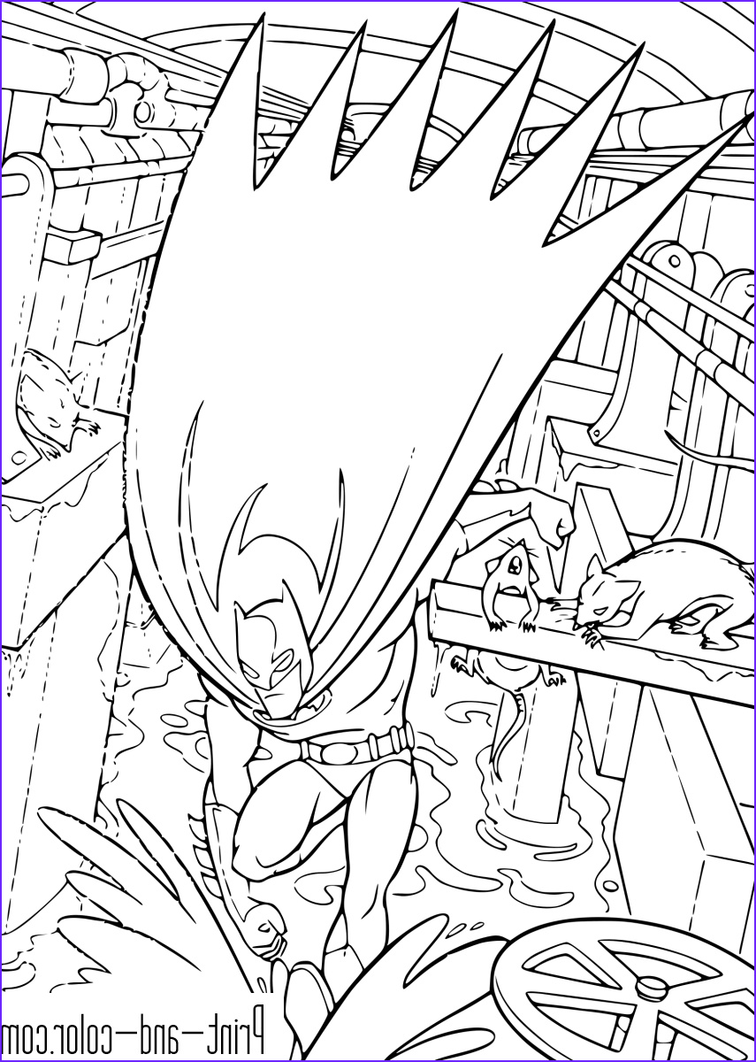 Dark Coloring Pages Cool Photos Batman Coloring Pages
