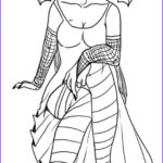 Dark Coloring Pages Elegant Gallery How To Draw A Gothic Elf Girl Step By Step Elves