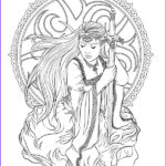 Dark Coloring Pages Luxury Images Gothic Dark Fantasy Coloring Book Volume 6 Fantasy Art