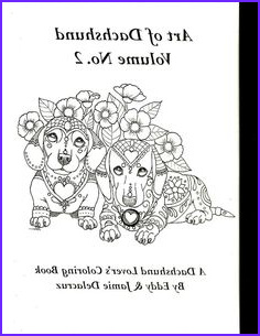 Daschund Coloring Book Best Of Photos Dachshund Printable Coloring Pages