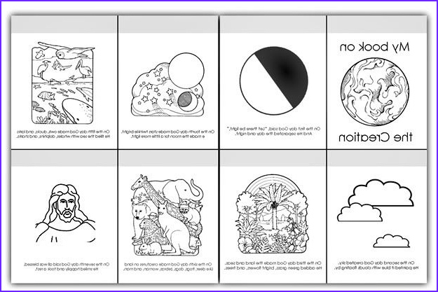 Days Of Creation Coloring Pages Elegant Photos 6 Days Of Creation Pictures