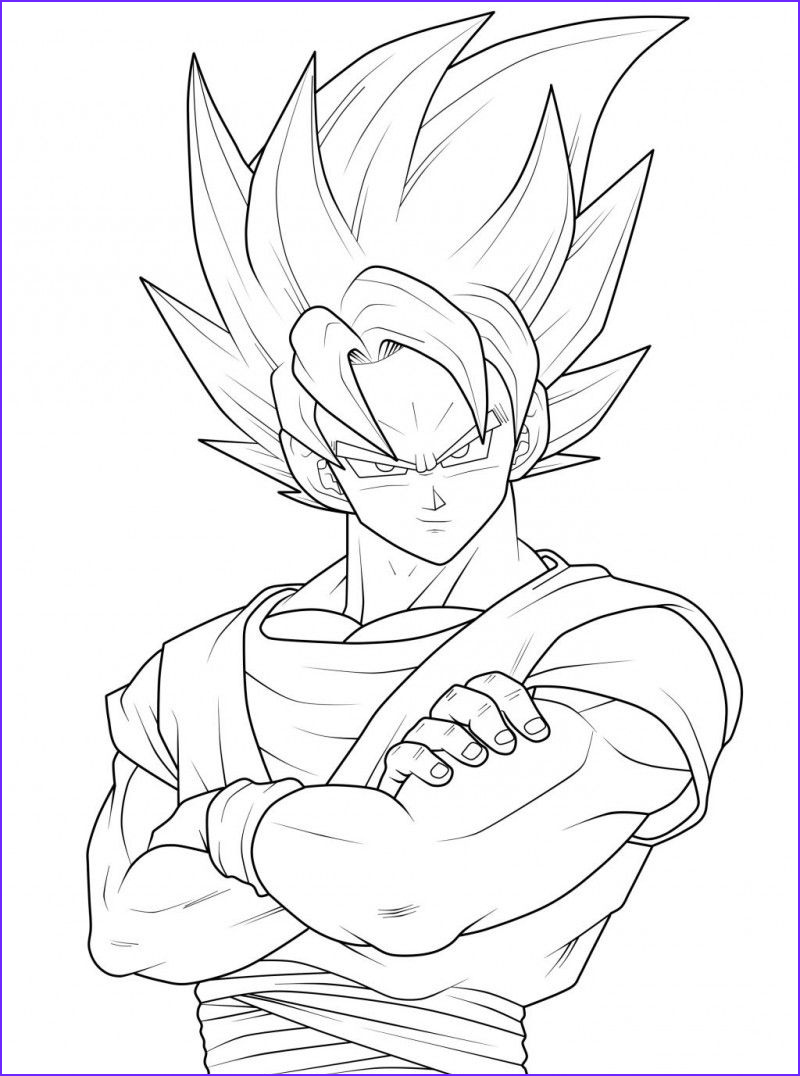 Dbz Coloring Book Awesome Collection Dragon Ball Coloring Pages Goku Coloring Pages