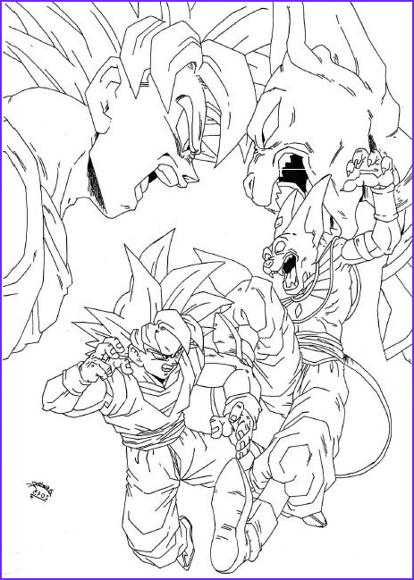 Dbz Coloring Book Beautiful Image Dragon Ball Z Battle Gods Coloring Pages Dragon Ball Z