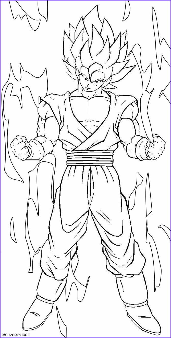 Dbz Coloring Book Best Of Photos Printable Goku Coloring Pages for Kids