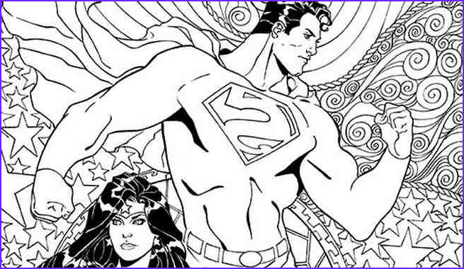 Dc Adult Coloring Book Awesome Collection Exclusive Dc Ics Coloring Book Covers for Superman
