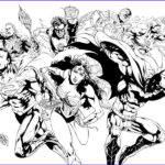 Dc Comics Coloring Book Cool Images 56 Best Lineart Dc Ics Images On Pinterest