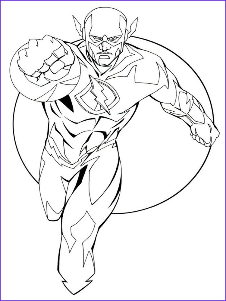 10 Awesome Dc Comics Coloring Pages Images