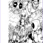 Deadpool Coloring Pages Awesome Image Deadpool Colouring Contest