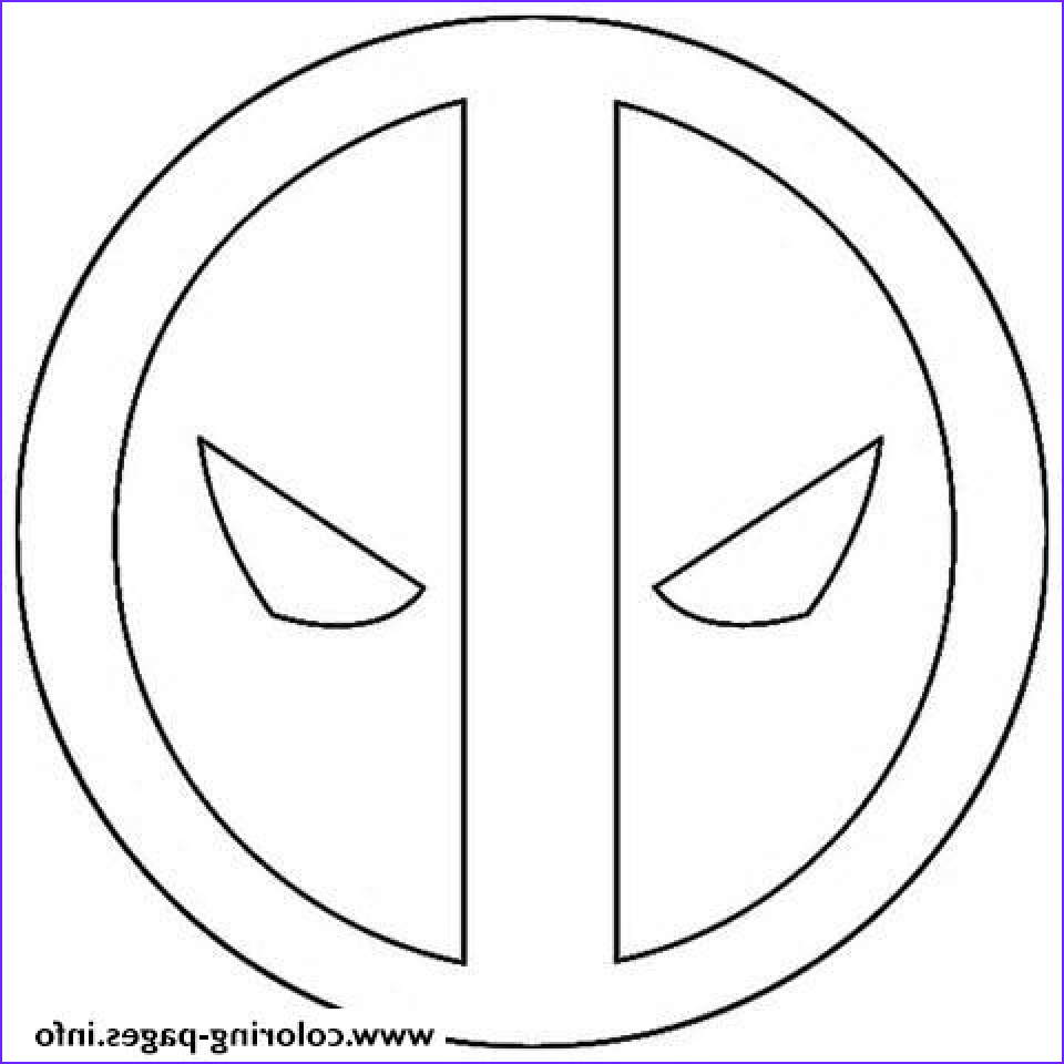 deadpool coloring pages free printable