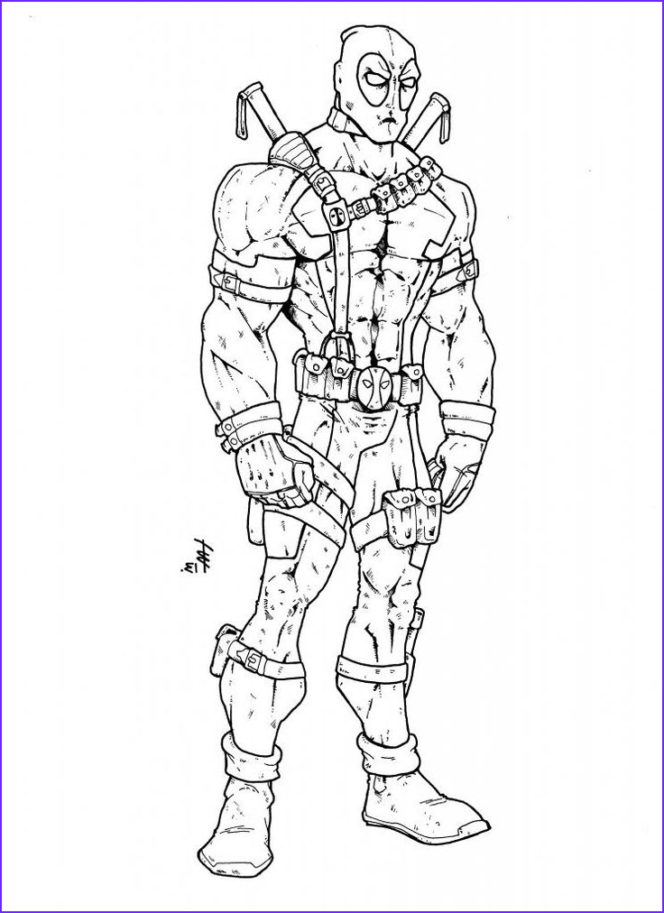Deadpool Coloring Pages Beautiful Photos 27 Best Images About Diy On Pinterest