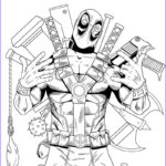 Deadpool Coloring Pages Beautiful Stock Deadpool Coloring Pages For Boys Coloring Pages