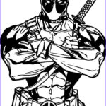 Deadpool Coloring Pages Best Of Images Awesome Deadpool Coloring Pages For Kids Ensign