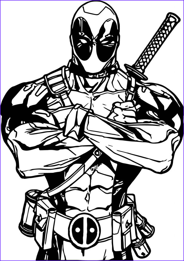 awesome deadpool coloring pages for kids ensign documentation