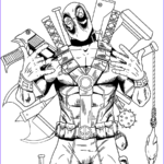 Deadpool Coloring Pages Cool Photos Deadpool Coloring Pages
