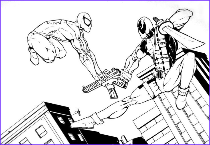 Deadpool Coloring Pages Luxury Image Deadpool Coloring Pages