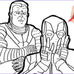 Deadpool Coloring Pages Luxury Photos Marvel Deadpool Coloring Pages