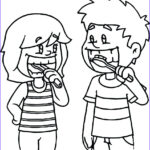 Dentist Coloring Pages New Image Brush Your Teeth Drawing At Getdrawings