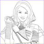 Descendants 2 Coloring Pages Inspirational Stock Pin By Brianna Maldonado On For My Sister
