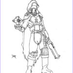Destiny Coloring Pages Beautiful Collection Destiny Guardian Line Art By Rpgfamily On Deviantart