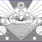 Destiny Coloring Pages Inspirational Photos Weird Destiny Coloring Book Page 1 On Behance