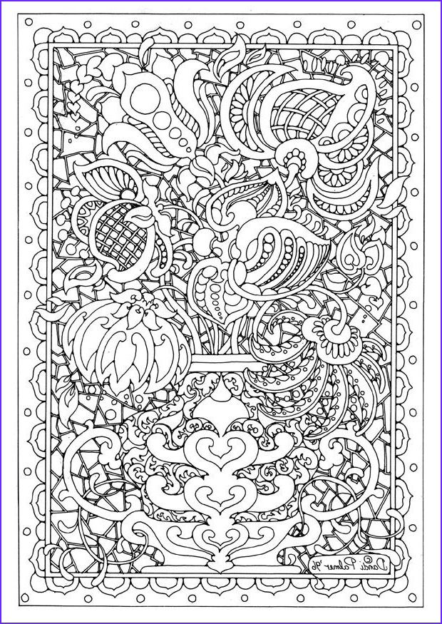 Detailed Coloring Pages for Adults Inspirational Stock Detailed Coloring Pages for Adults