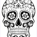 Dia De Los Muertos Coloring Best Of Photos Skull Coloring Pages For Adults