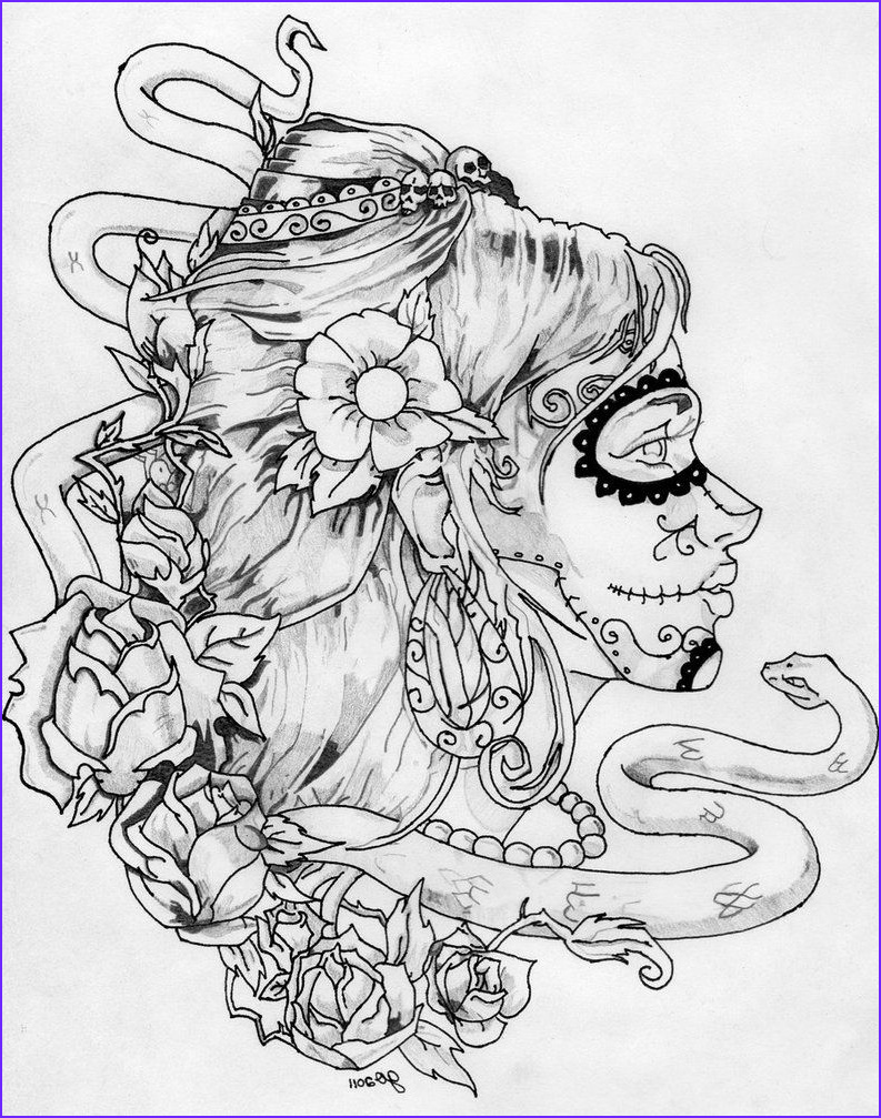 Dia De Los Muertos Coloring Sheets Awesome Images Day Of the Dead Coloring Pages